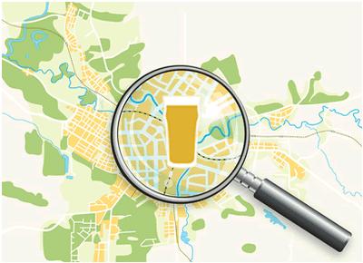 クラフトビール東京地図