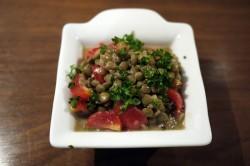 トマト・レンズ豆