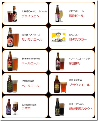 提供予定ビール