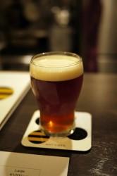 アントンビー ビール一杯目